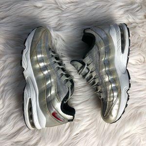 Nike Air Max 95 QS GS 'Silver bullet'